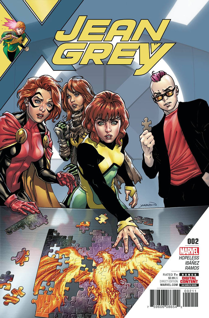 JEAN GREY #2 COVER