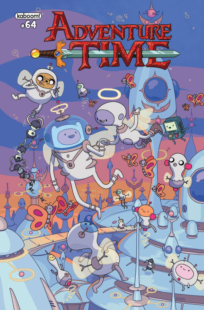 ADVENTURE TIME #64 COVER