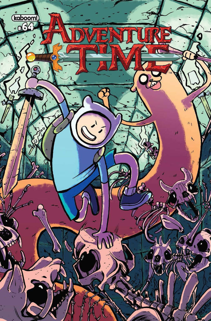 ADVENTURE TIME #64 SUBSCRIPTION FLETCHER CVR COVER