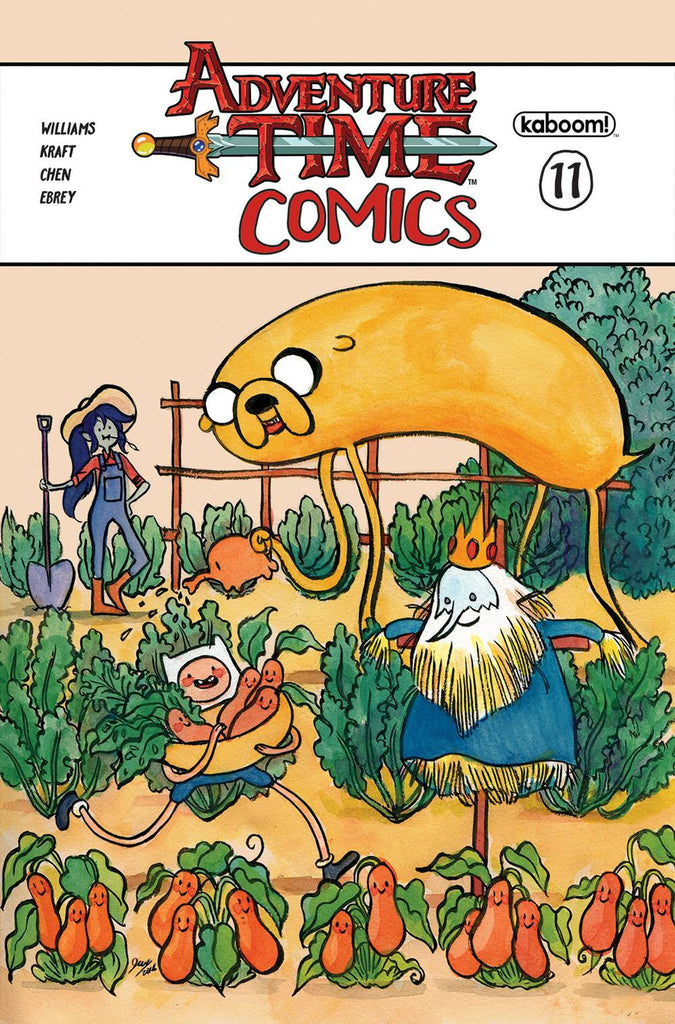 ADVENTURE TIME COMICS #11 SUBSCRIPTION WANG CVR COVER