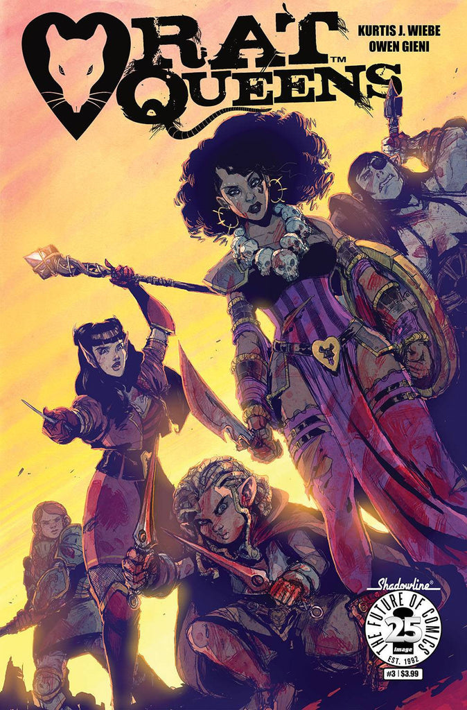 RAT QUEENS #3 COVER
