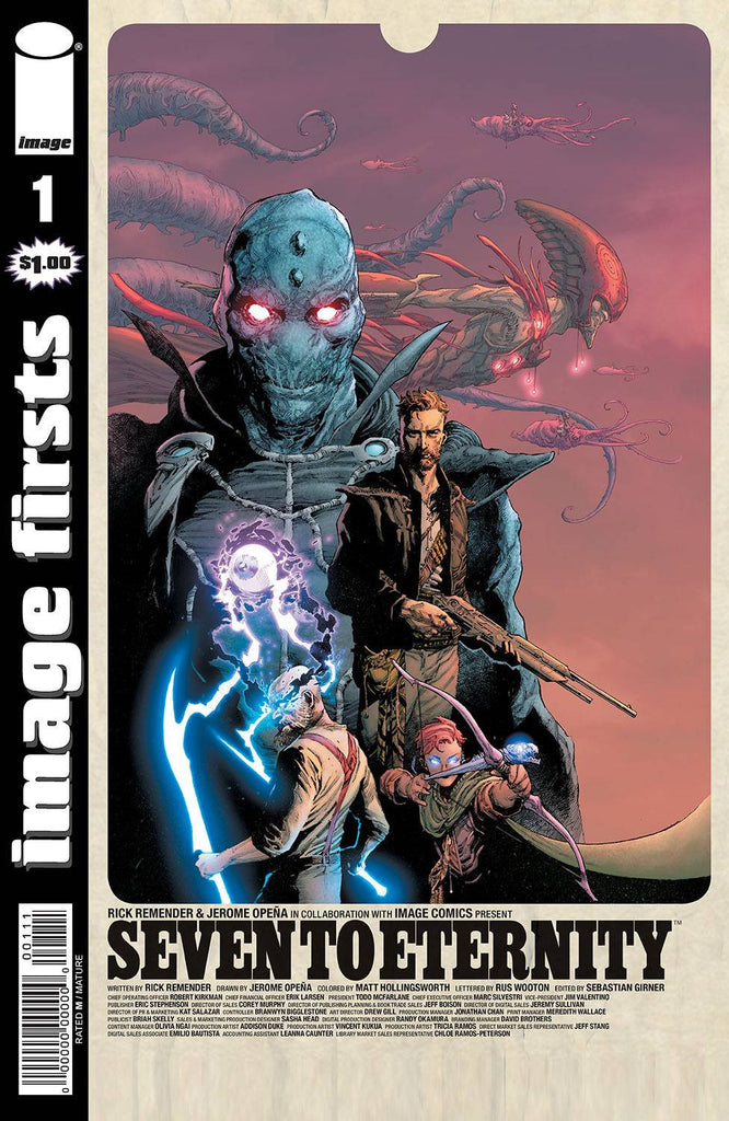 IMAGE FIRSTS SEVEN TO ETERNITY #1 (MR) COVER