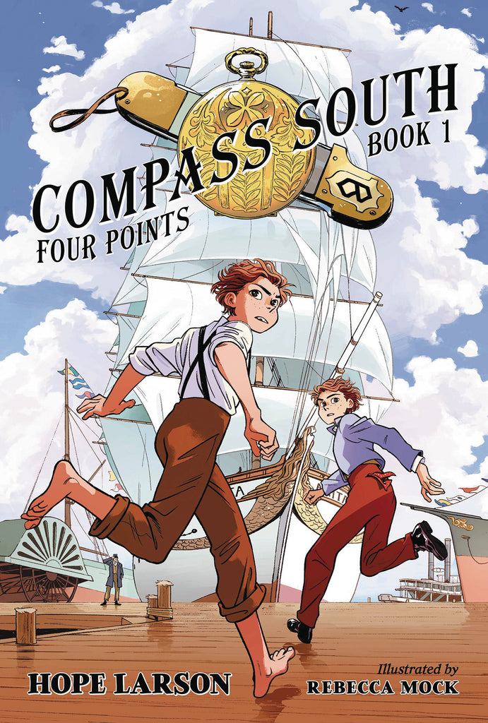 FOUR POINTS SC GN VOL 01 COMPASS SOUTH COVER