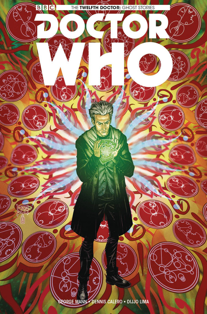 DOCTOR WHO GHOST STORIES #3 (OF 4) CVR A SHEDD COVER