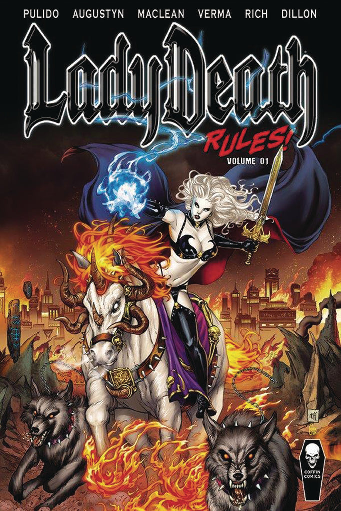 LADY DEATH RULES TP VOL 01 (MR) COVER
