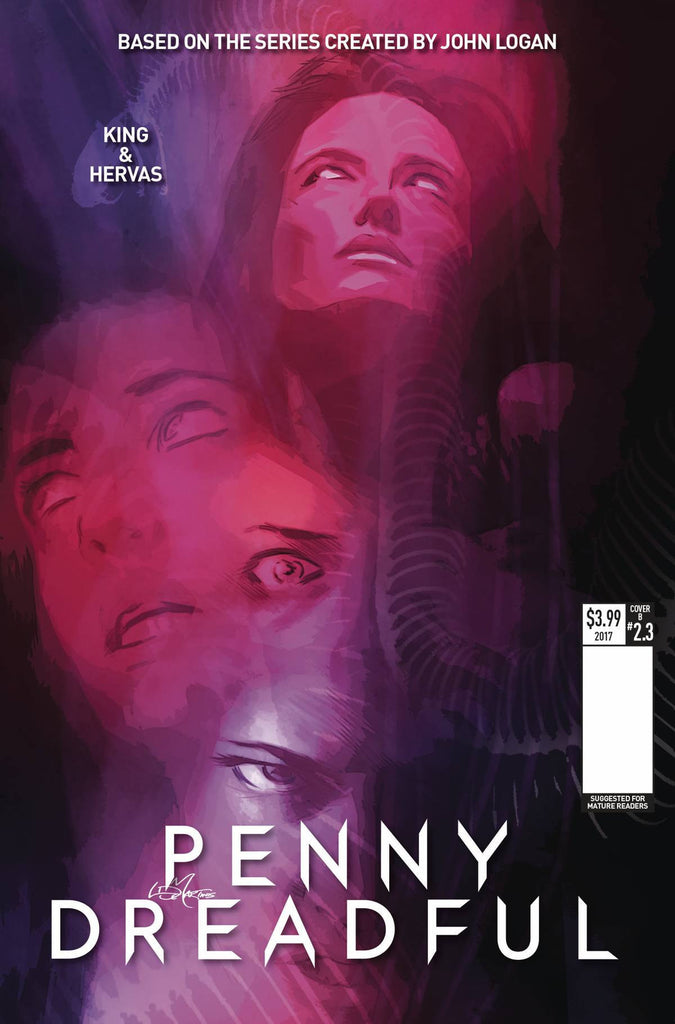 PENNY DREADFUL #3 CVR C DE MARTINIS COVER
