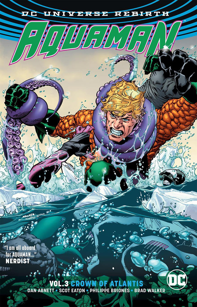 AQUAMAN TP VOL 03 CROWN OF ATLANTIS (REBIRTH) COVER
