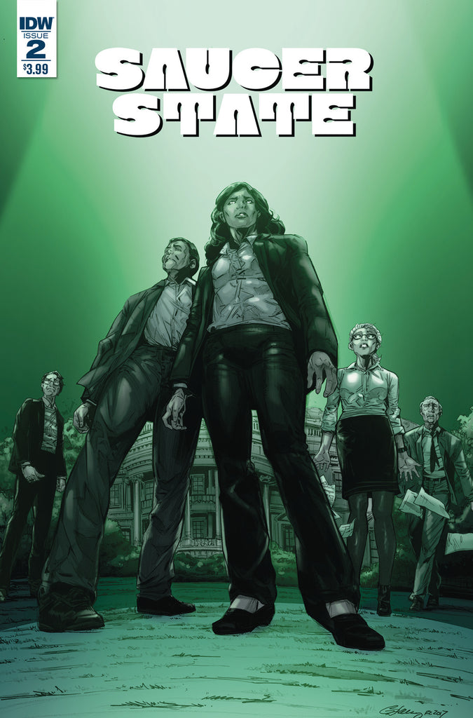 SAUCER STATE #2 (OF 6) COVER