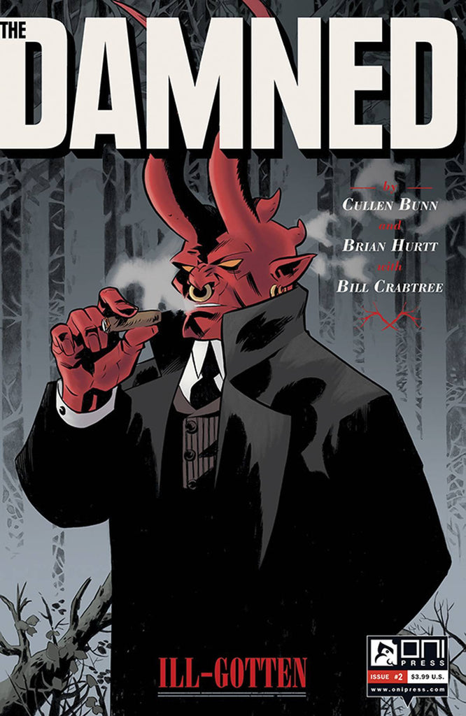 DAMNED #2 (MR) COVER