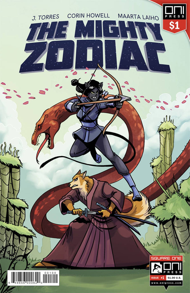 MIGHTY ZODIAC #1 1 DOLLAR ED COVER