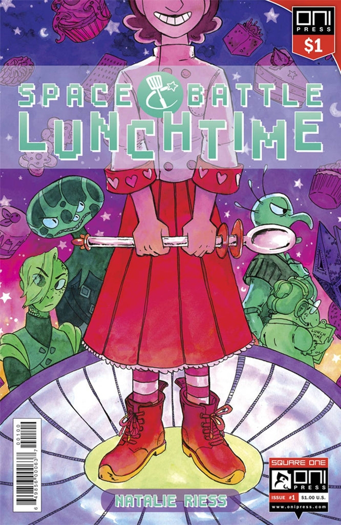 SPACE BATTLE LUNCHTIME #1 1 DOLLAR ED COVER