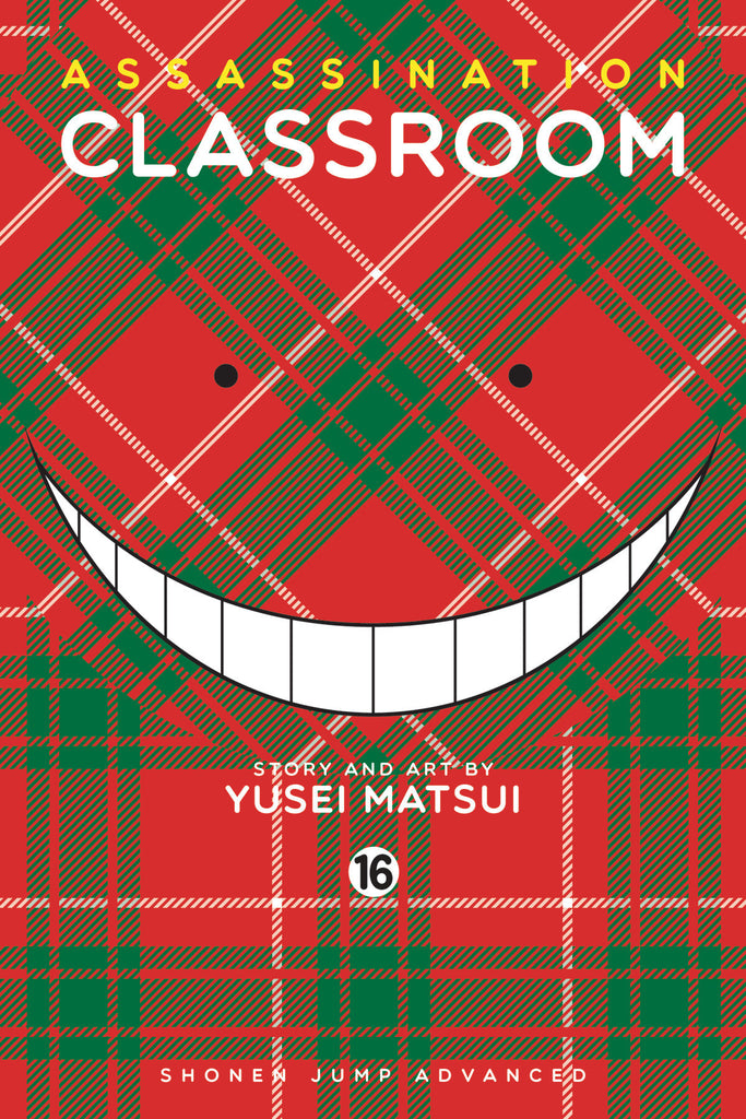 ASSASSINATION CLASSROOM GN VOL 16 COVER