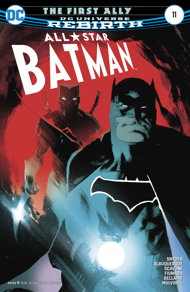 ALL STAR BATMAN #11 COVER