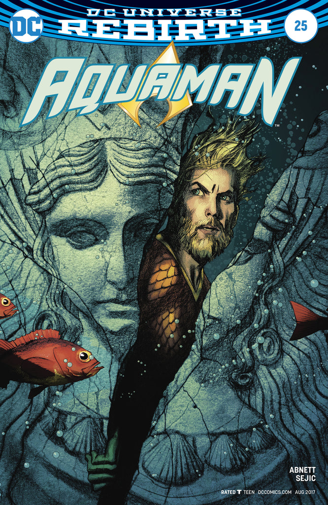 AQUAMAN #25 VAR ED COVER