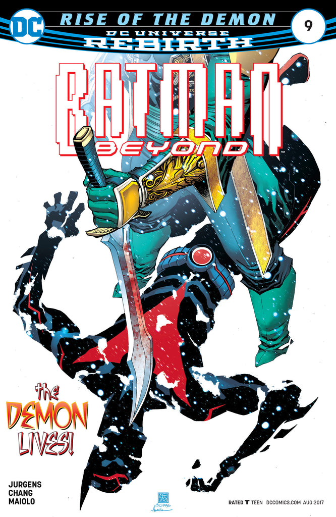 BATMAN BEYOND #9 COVER