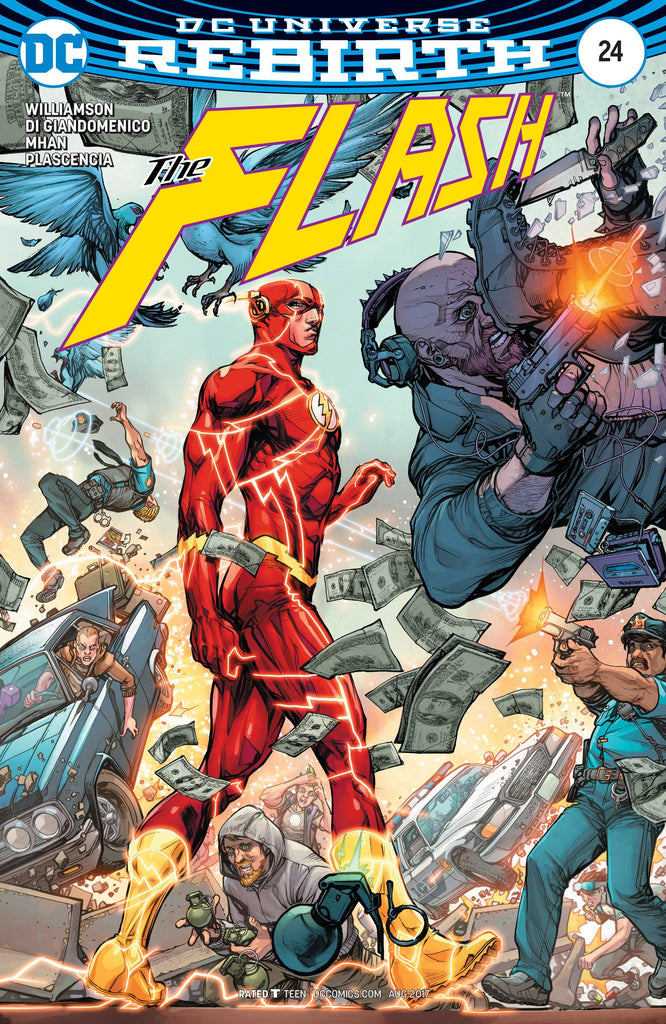 FLASH #24 VAR ED COVER