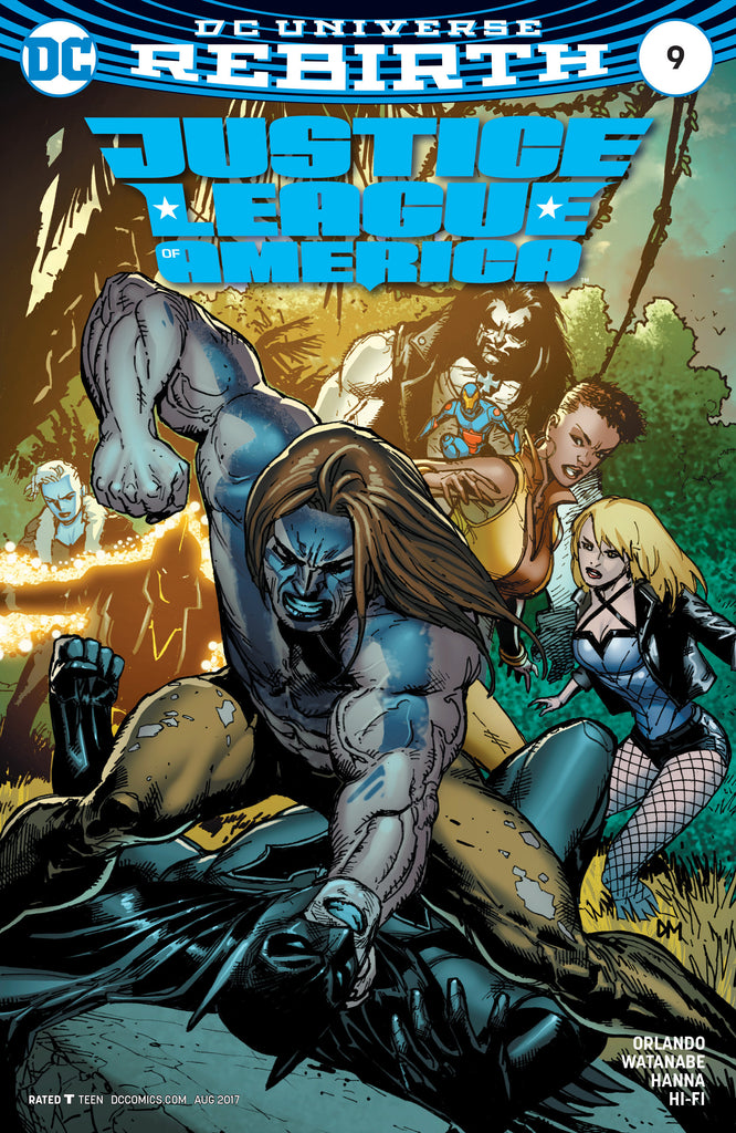 JUSTICE LEAGUE OF AMERICA #9 VAR ED COVER