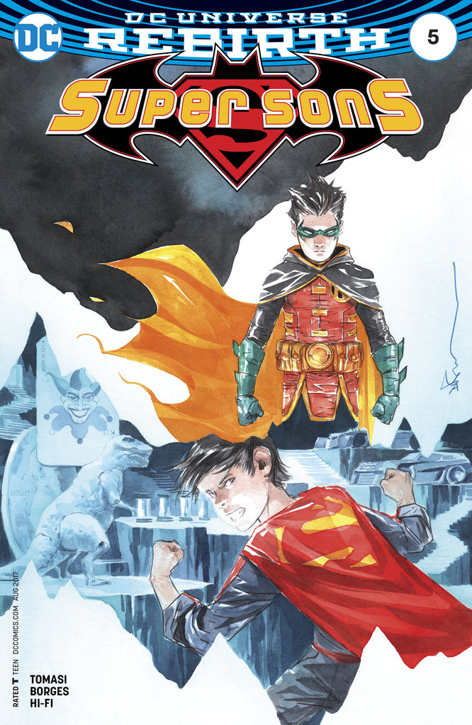 SUPER SONS #5 VAR ED COVER