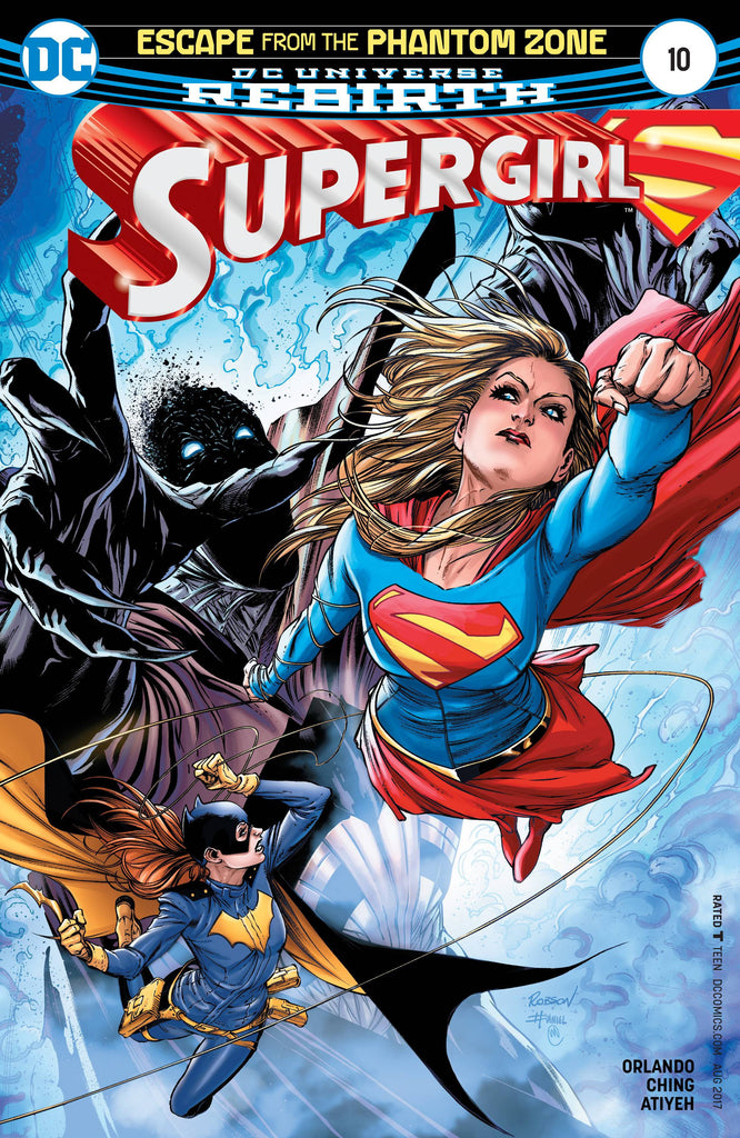 SUPERGIRL #10 COVER