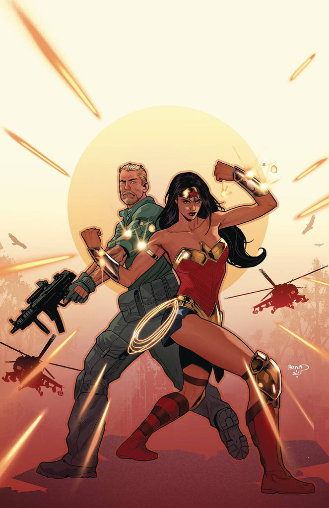 WONDER WOMAN STEVE TREVOR #1 COVER
