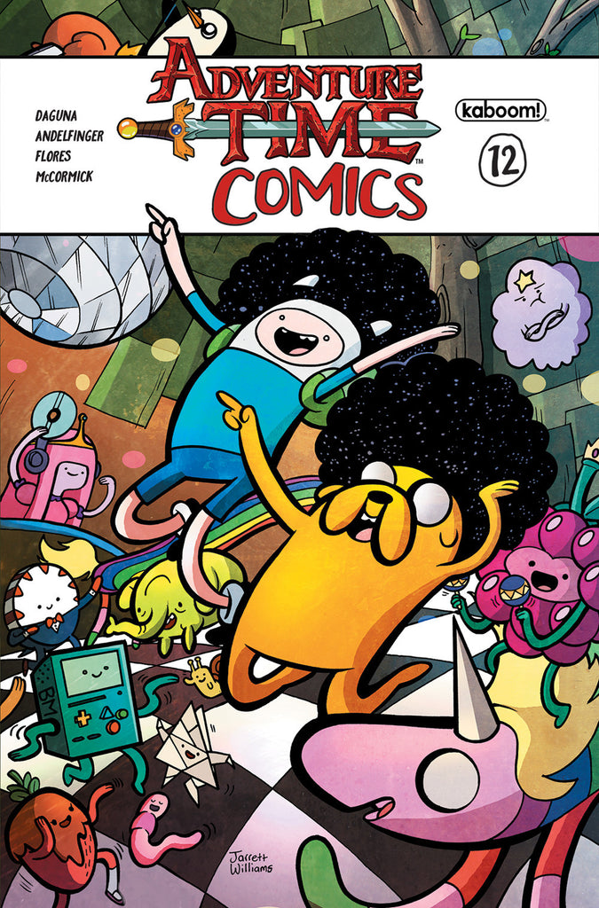 ADVENTURE TIME COMICS #12 COVER