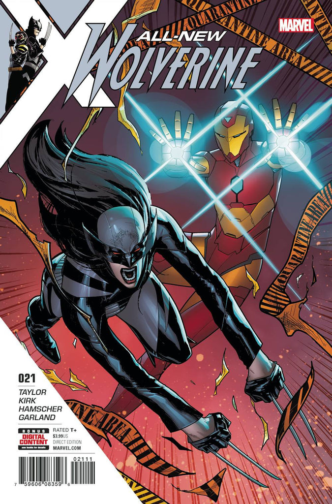 ALL NEW WOLVERINE #21 COVER