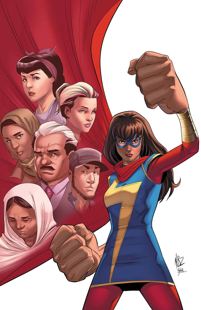 MS MARVEL #19 COVER