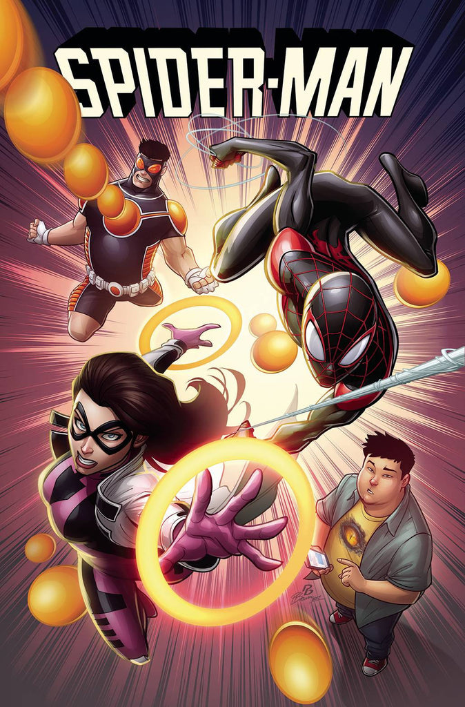 SPIDER-MAN #17 COVER
