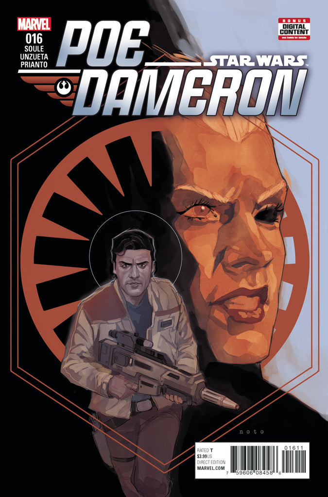 STAR WARS POE DAMERON #16 COVER