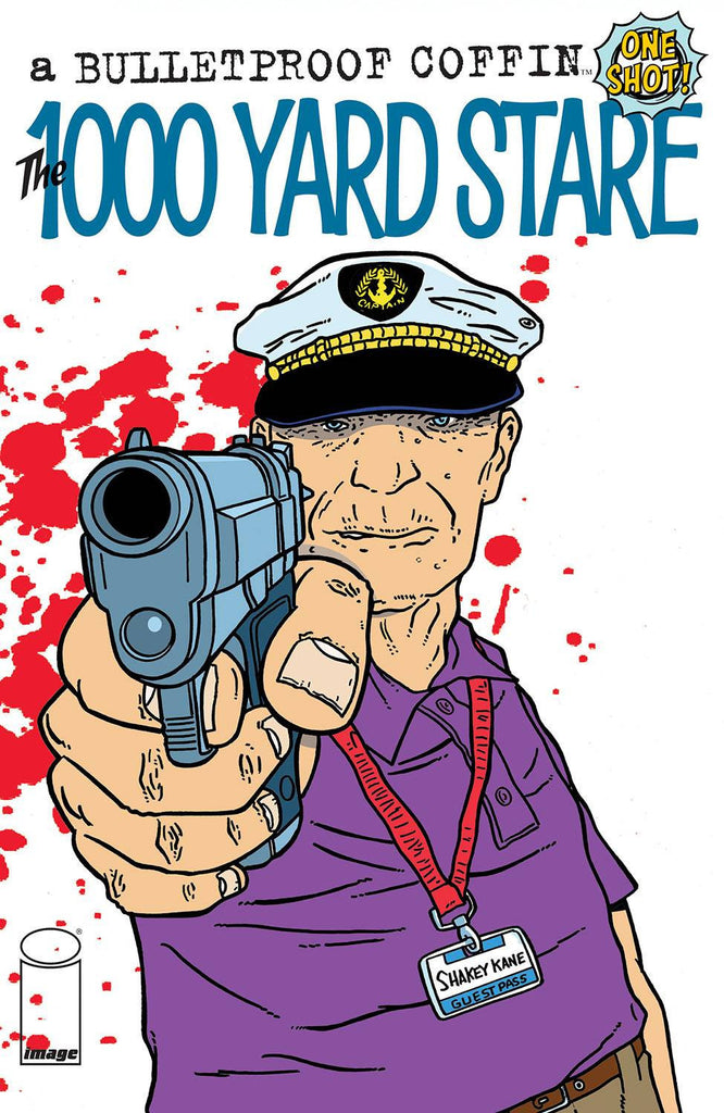 BULLETPROOF COFFIN THOUSAND YARD STARE (ONE-SHOT) COVER