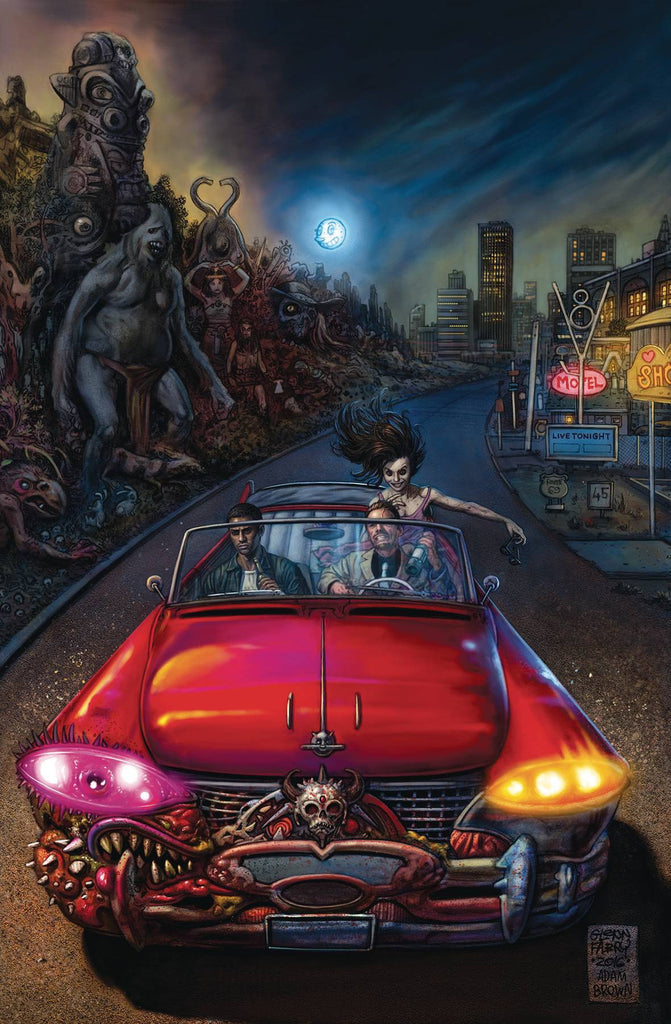 NEIL GAIMAN AMERICAN GODS SHADOWS #4 (MR) COVER