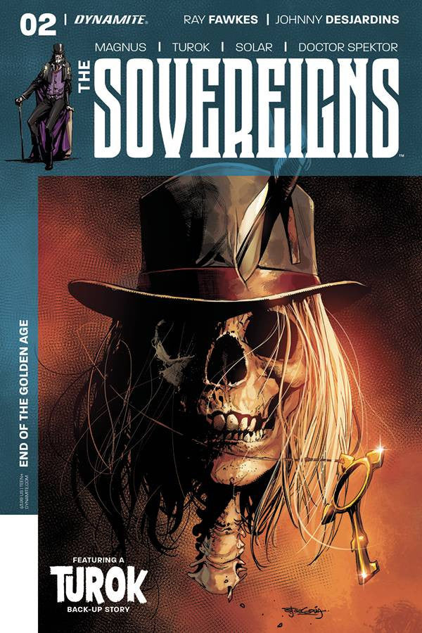 SOVEREIGNS #2 CVR A SEGOVIA COVER