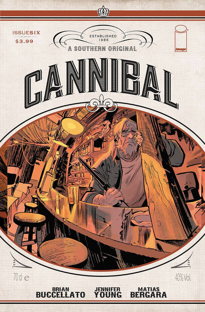 CANNIBAL #6 COVER