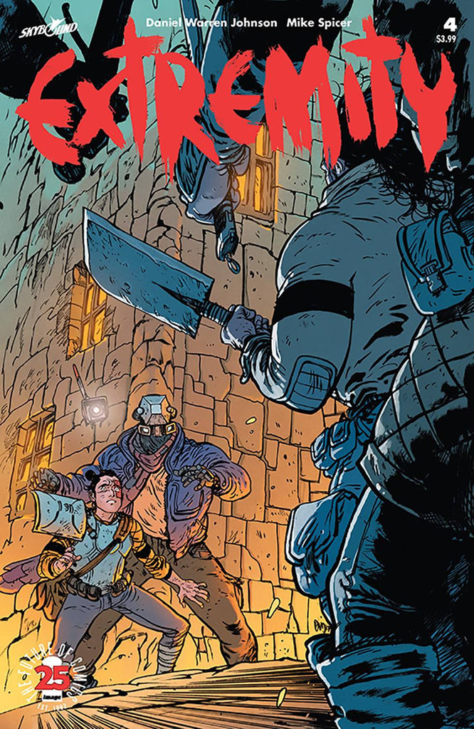 EXTREMITY #4 COVER