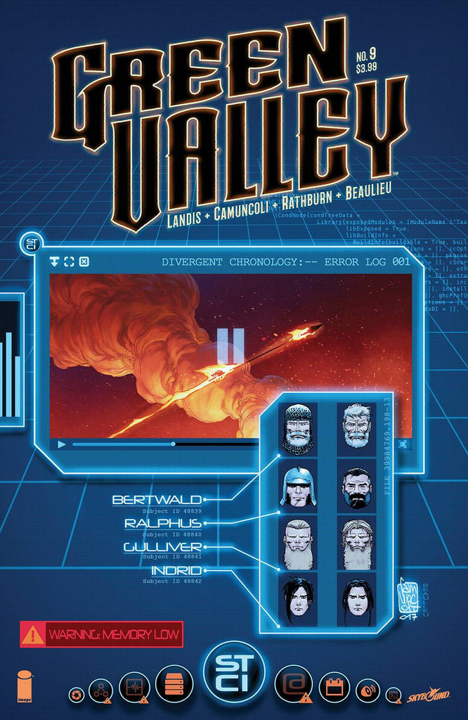GREEN VALLEY #9 (OF 9) COVER