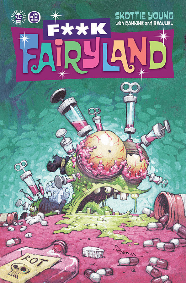 I HATE FAIRYLAND #13 F*CK (UNCENSORED) FAIRYLAND VAR (MR) COVER