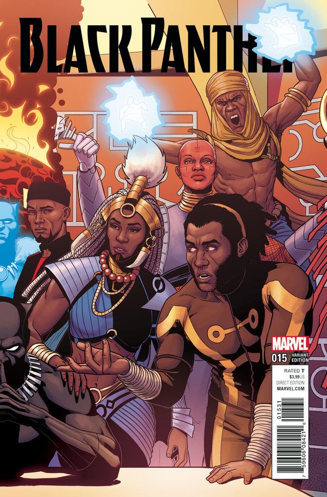 BLACK PANTHER #15 MCKELVIE CONNECTING VAR C COVER