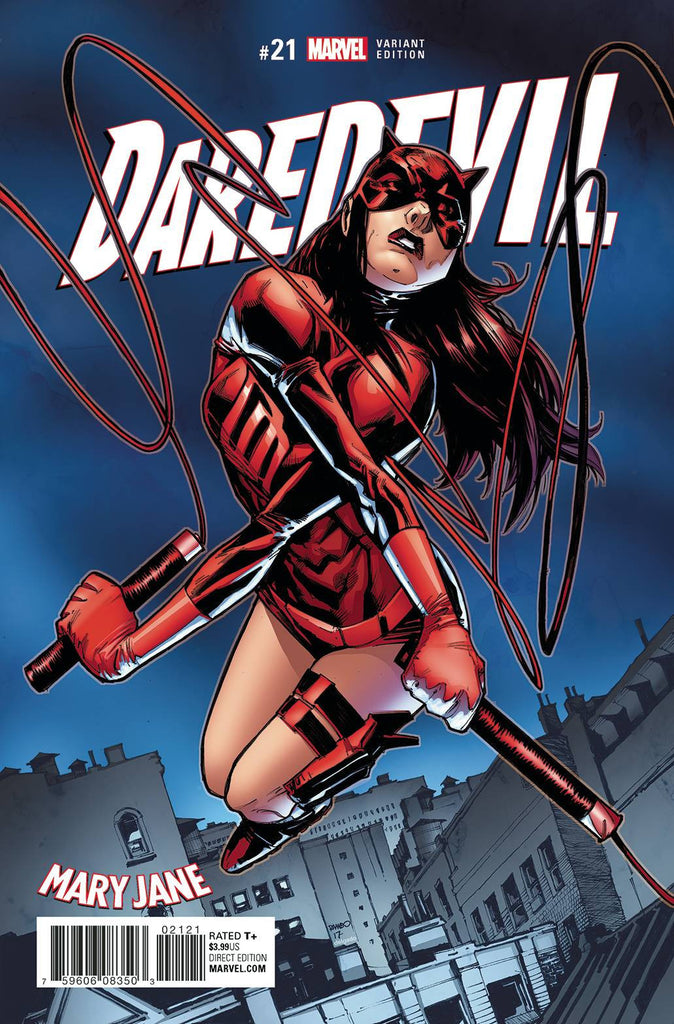 DAREDEVIL #21 RAMOS MARY JANE VAR COVER