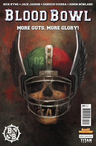 BLOOD BOWL MORE GUTS MORE GLORY #3 (OF 4) CVR A MAGILL COVER
