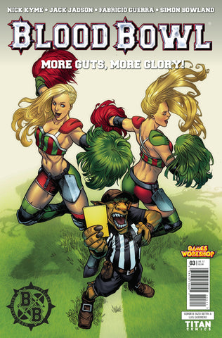 BLOOD BOWL MORE GUTS MORE GLORY #3 (OF 4) CVR B BETTIN COVER