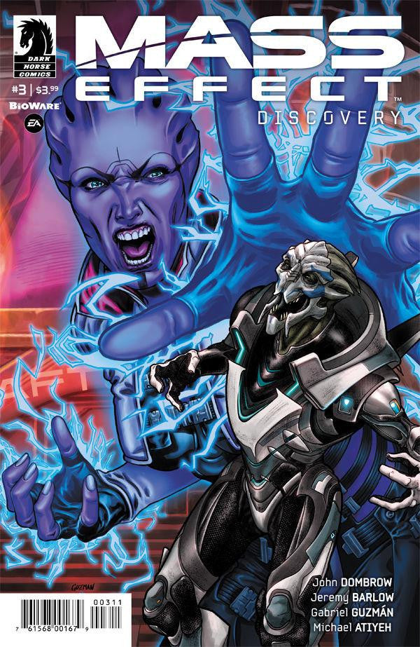 MASS EFFECT DISCOVERY #3 COVER