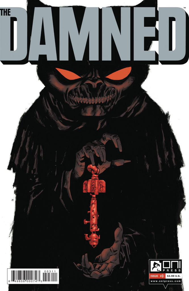 DAMNED #3 (MR) COVER