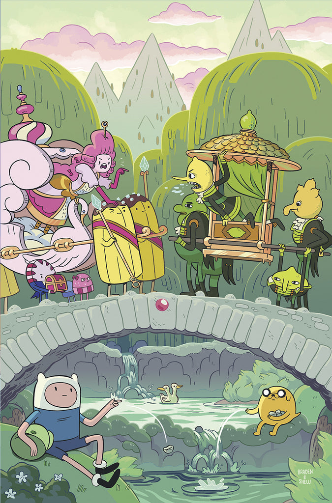 ADVENTURE TIME #66 COVER