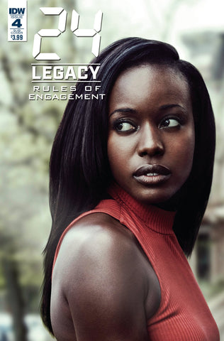 24 LEGACY RULES OF ENGAGEMENT #4 (OF 5) CVR B PHOTO COVER
