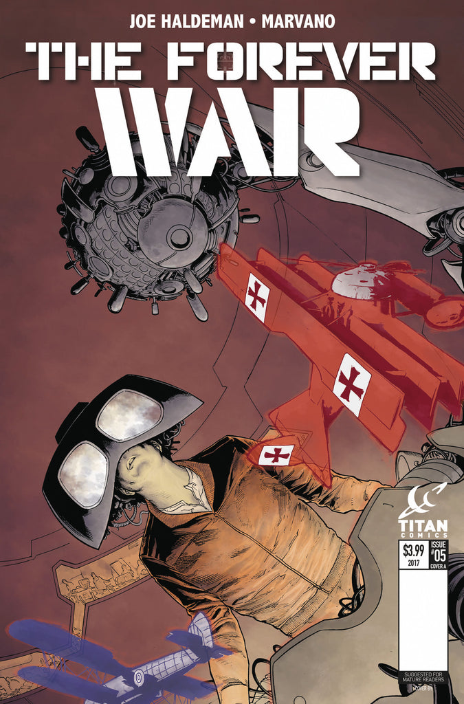 FOREVER WAR #6 (OF 6) CVR A KURTH COVER