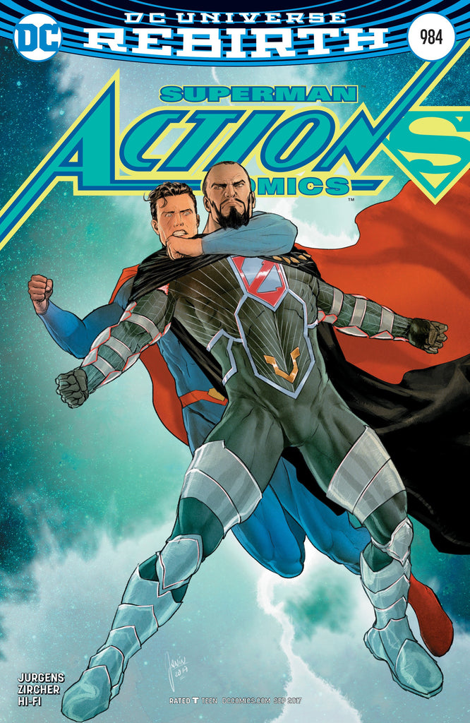 ACTION COMICS #984 VAR ED COVER