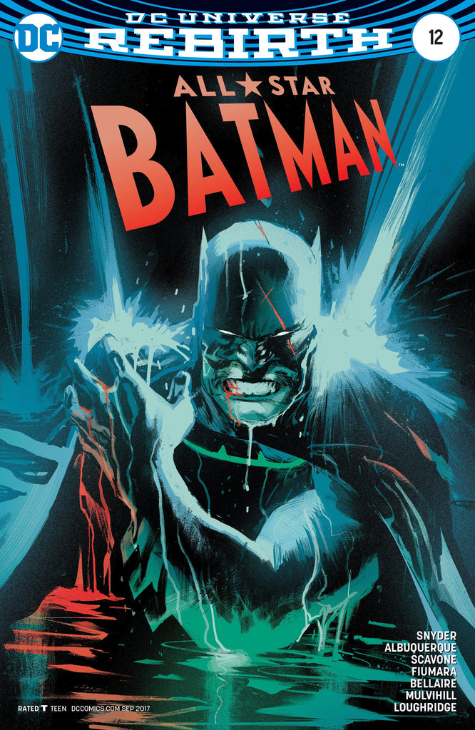ALL STAR BATMAN #12 ALBUQUERQUE VAR ED COVER