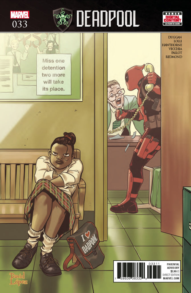 DEADPOOL #33 SE COVER
