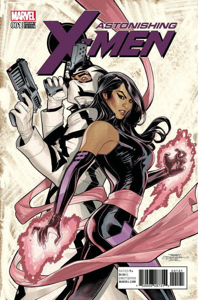 ASTONISHING X-MEN #1 DODSON CHARACTER VAR COVER