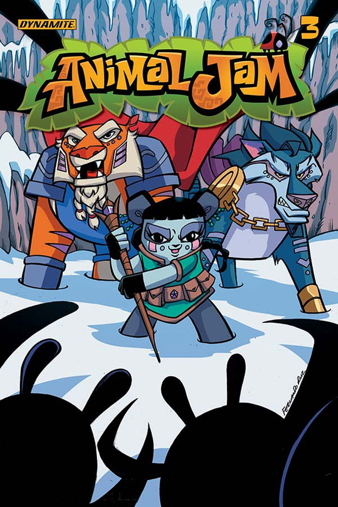 ANIMAL JAM #3 (OF 3) CVR A RUIZ COVER